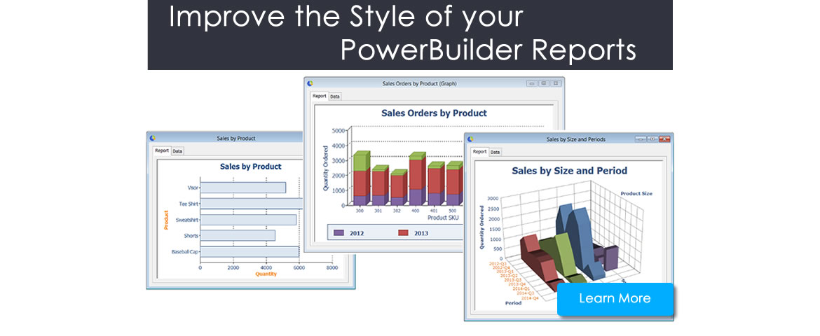 Improve the layoyt of PowerBuilder Reports